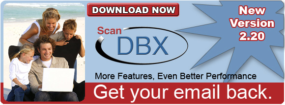 Click here to download ScanDBX.  The only Microsoft Certified tool to repair Outlook Express
